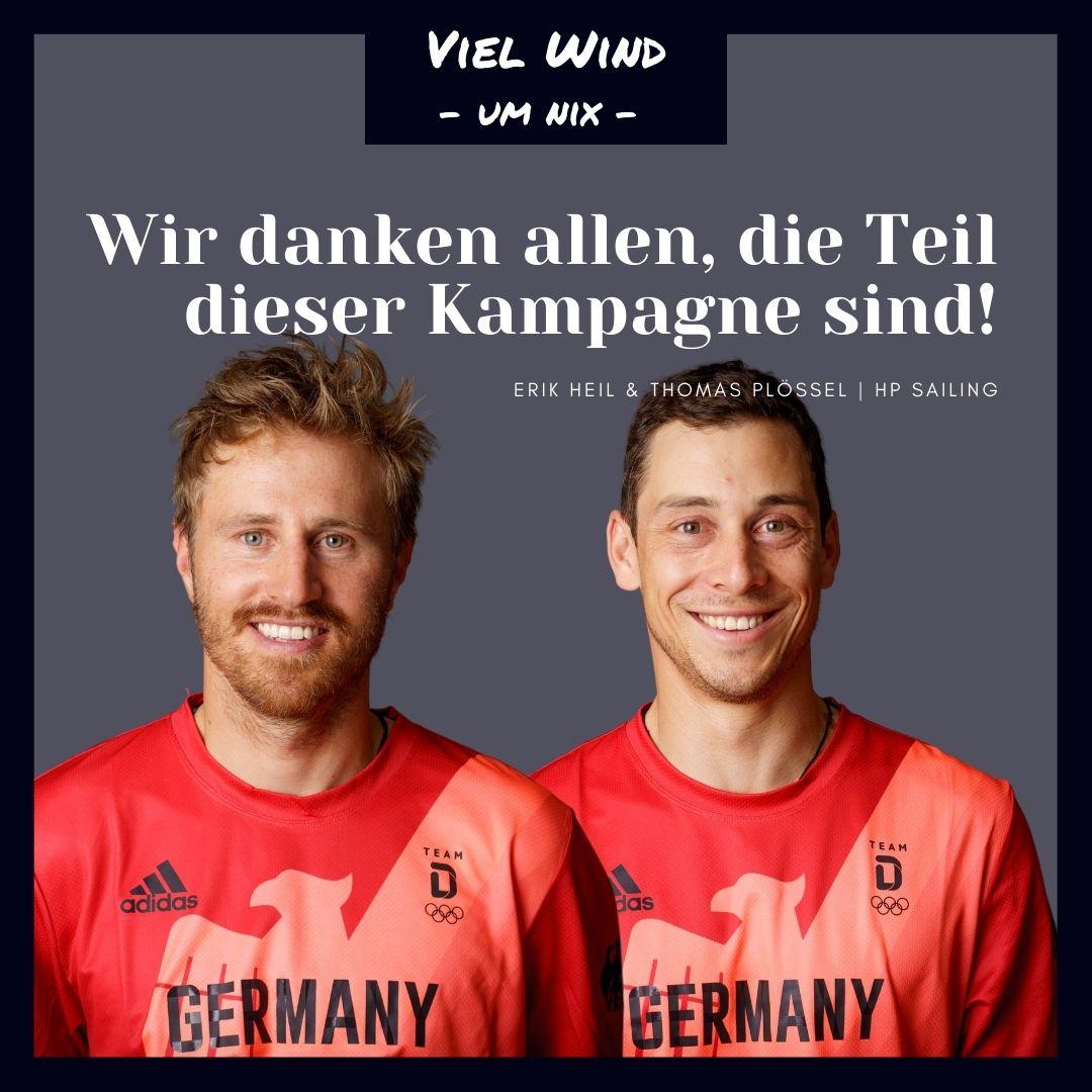 Viel Wind um nix - HP Sailing, Erik Heil & Thomas Plößel